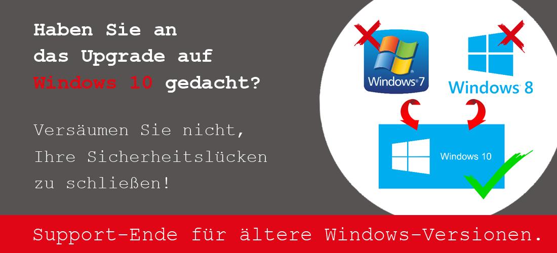 Abkündigung von Microsoft Produkten
