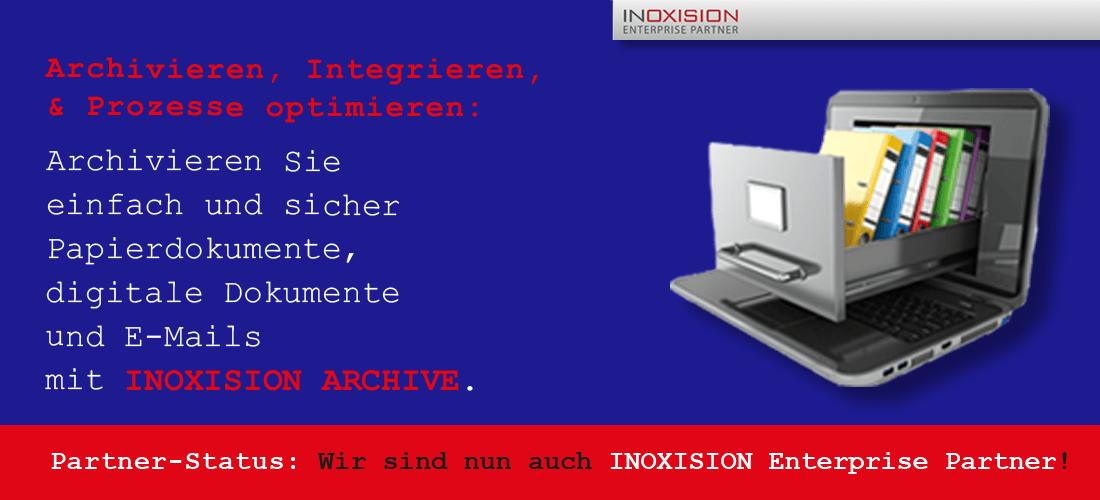 Rechtskonforme E-Mail- und Dokumenten-Archivierung.
