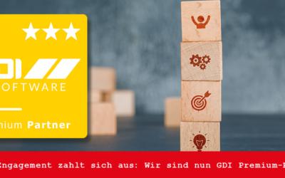 Wir sind GDI Premium-Partner!