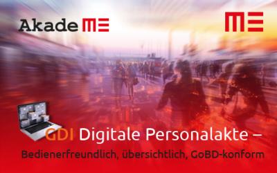 GDI Personalakte – Auf dem Weg in eine Digitale Zukunft